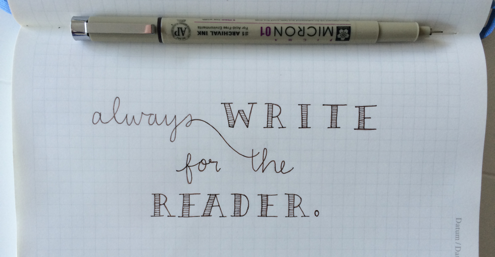 write for the reader
