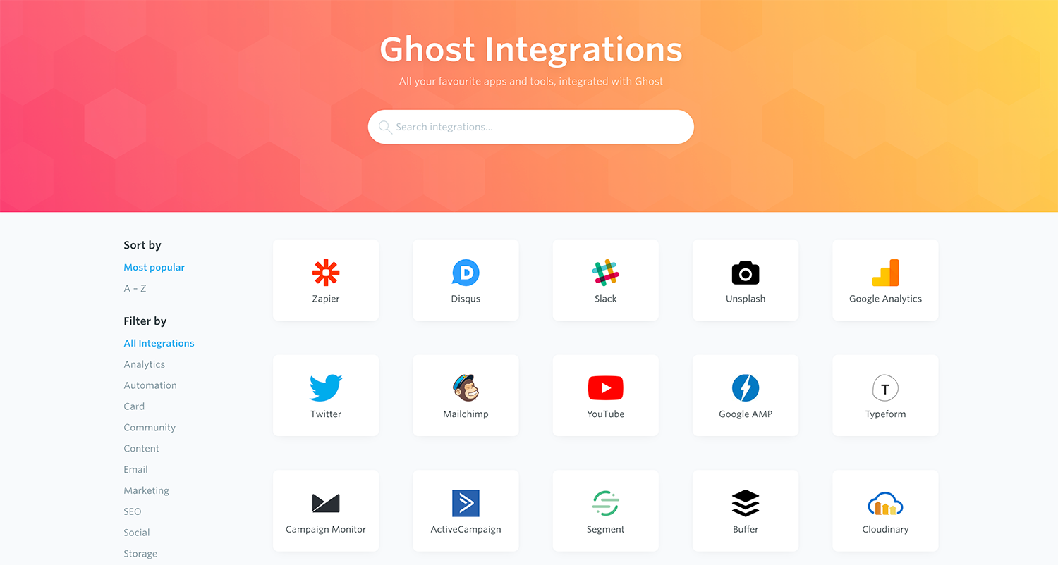 Announcing the all new Ghost Docs, Tutorials and Integrations 💡