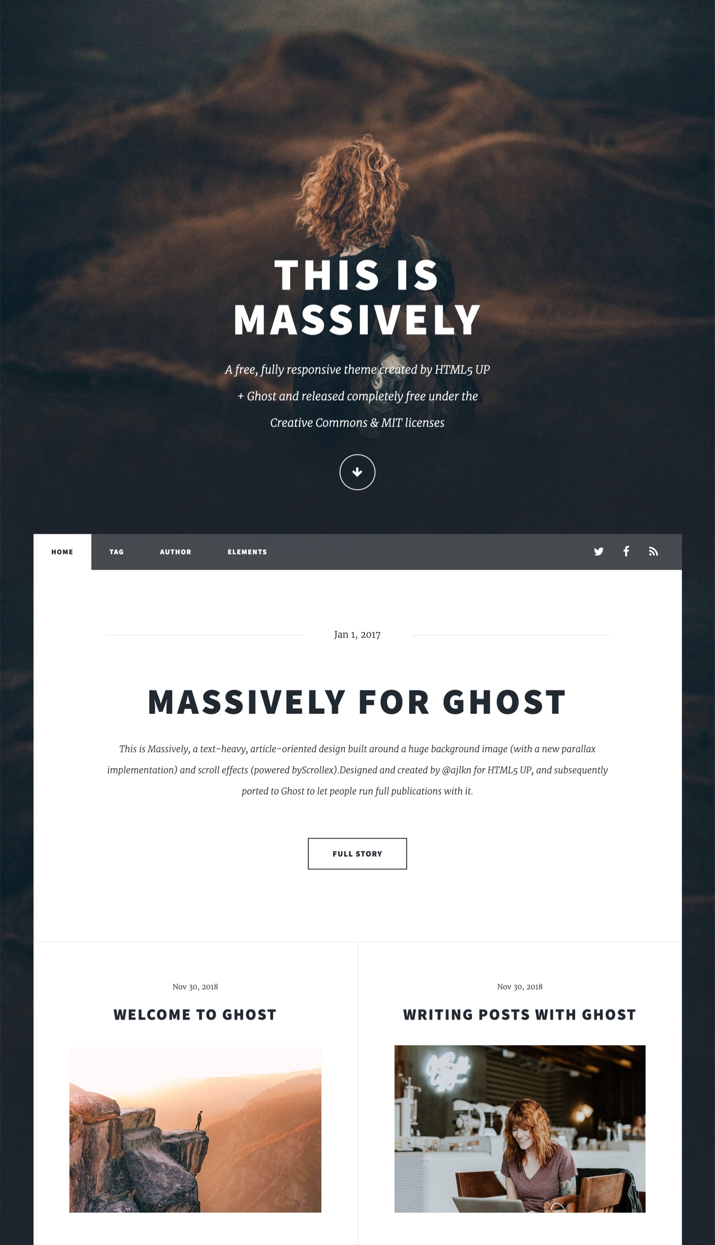 All New Free Ghost Themes – Fully open-source themes for