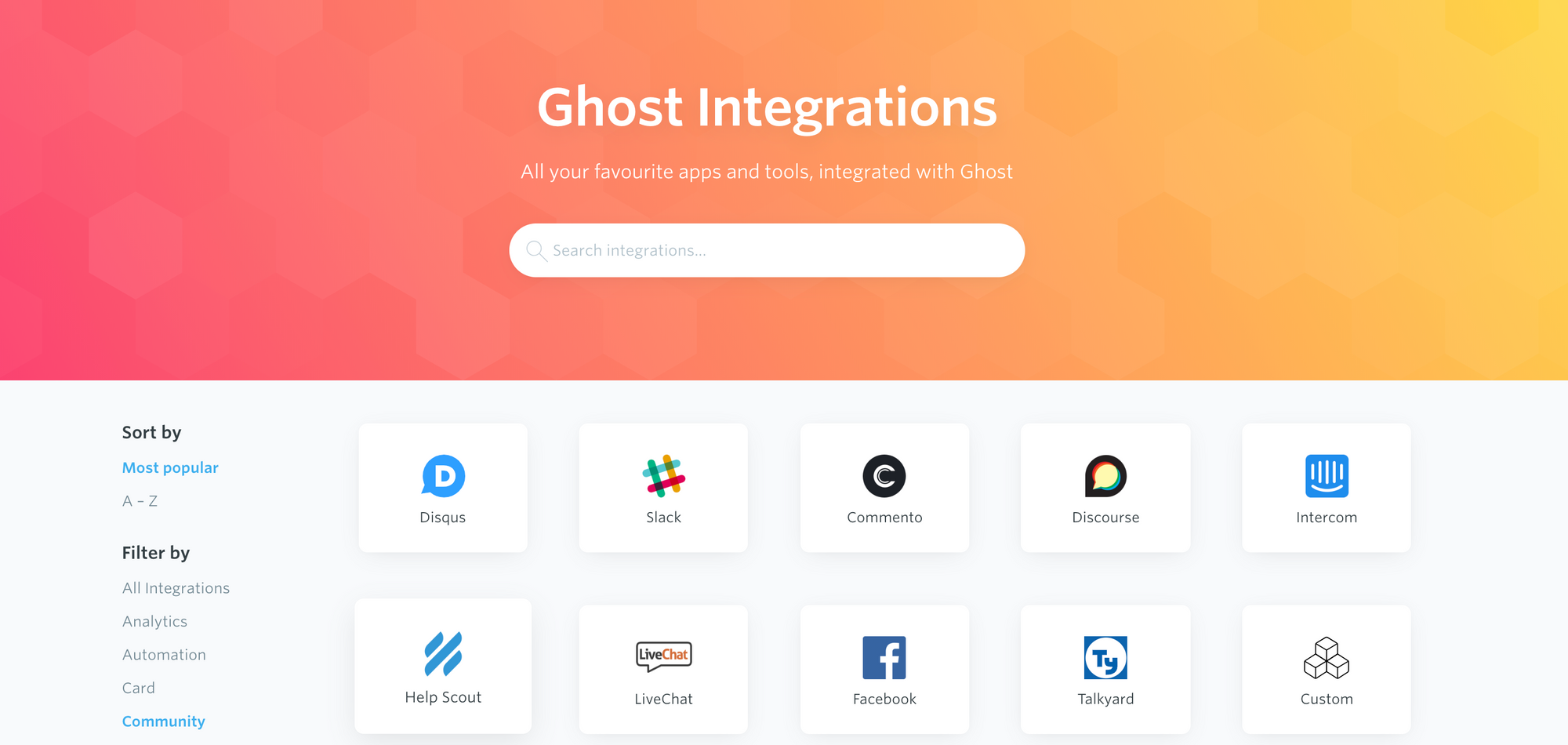 Ghost - The Professional Publishing Platform